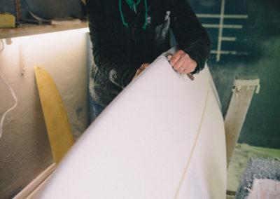 Ellie Sanding white board