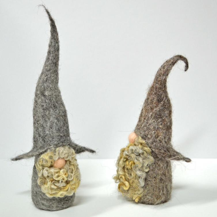 Needle Felt Gnomes