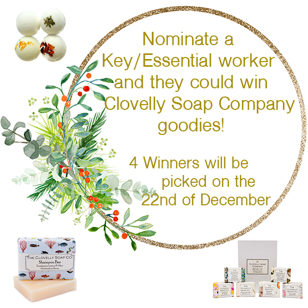 Soap giveaway campaign