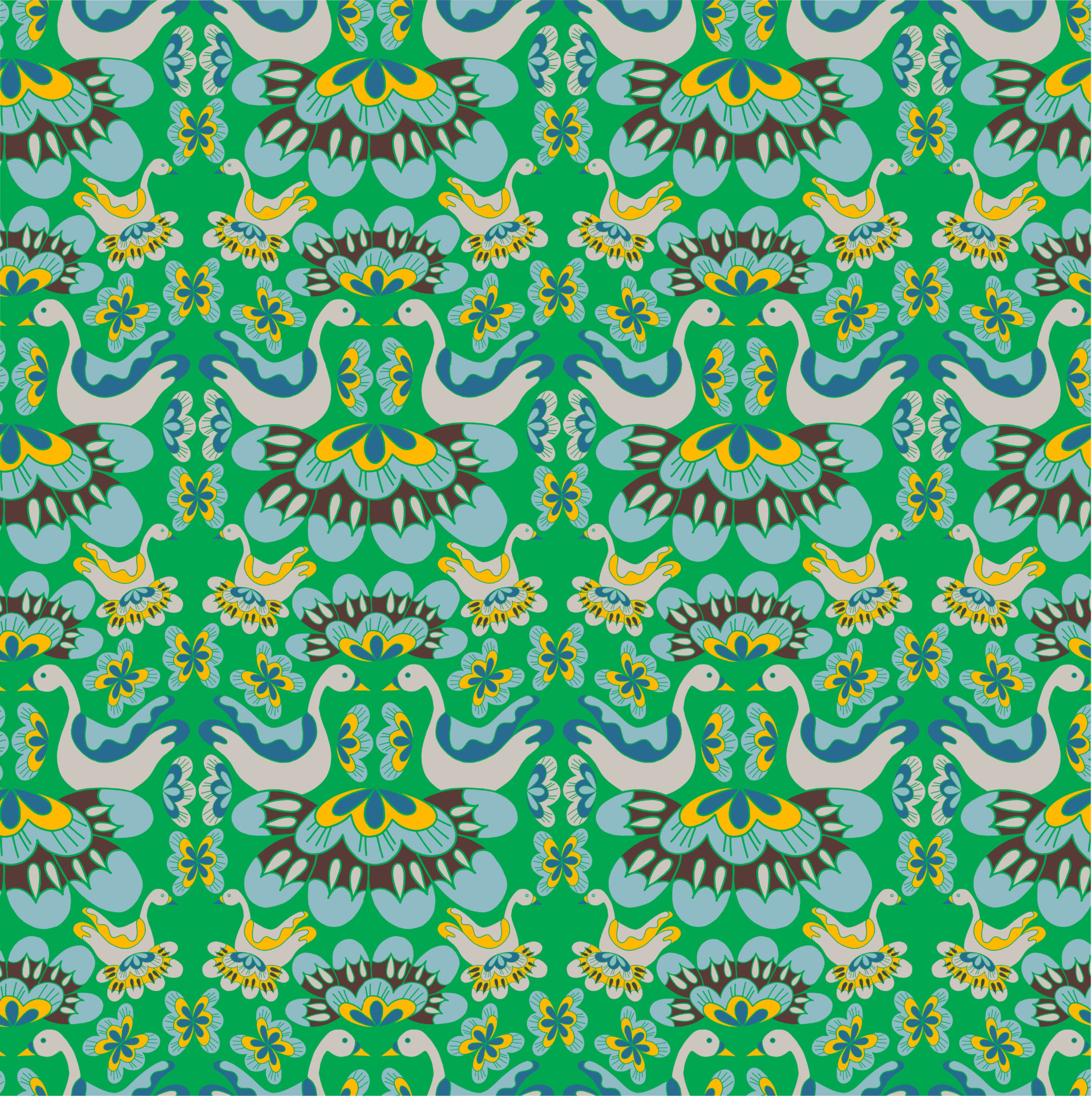 Green Swan design