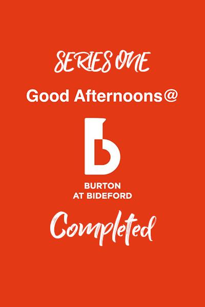 Good Afternoon Talks Series 1